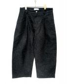 STUDIO NICHOLSON(スタジオニコルソン)の古着「ブリッジパンツ」|ブラック