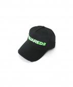 DSQUARED2(ディースクエアード)の古着「キャップ」|ブラック