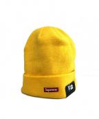 SUPREME×NEWERA(シュプリーム×ニューエラ)の古着「ニット帽」|イエロー