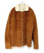 COOTIE(クーティー)の古着「スエードボアジャケット」 ブラウン