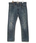 RON HERMAN DENIM(ロン ハーマン デニム)の古着「デニムパンツ」|スカイブルー