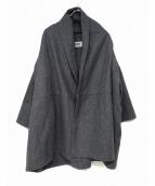 BASISBROEK(バージスブルック)の古着「トッパーコート」|グレー