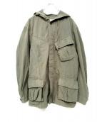 nonnative(ノンネイティブ)の古着「TROOPER HOODED JACKET ジャケット」 グリーン