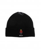 POLO RALPH LAUREN(ポロ バイ ラルフローレン)の古着「ポロベアニット帽」