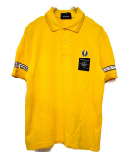 ART COMES FIRST×FRED PERRY(アートカムズファースト×フレッドペリー)の古着「ポロシャツ」|イエロー