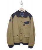G-STAR RAW(ジースターロウ)の古着「デニムダックジャケット」|カーキ