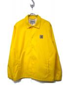 CARHARTT WIP(カーハート)の古着「コーチジャケット」|イエロー