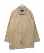 FRED PERRY(フレッドペリ)の古着「ハリントンマックコート」|ベージュ