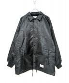 WACKOMARIA(ワコマリア)の古着「コーチジャケット」|ブラック