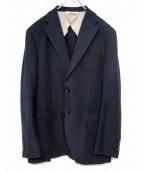 Paul Stuart(ポールスチュアート)の古着「ウールジャケット」|パープル