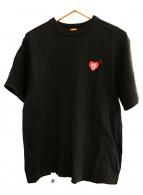 HUMAN MADE×Girls Dont Cry(ヒューマンメイド×ガールズドントクライ)の古着「コラボプリントTシャツ」|ブラック