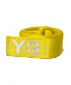 Y-3(ワイスリー)の古着「カラーナイロンベルト」|イエロー