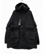 UNDERCOVER(アンダーカバー)の古着「グラフィックマウンテンパーカー」 ブラック