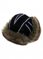 SUPREME(シュプリーム)の古着「Trooper Hat stripe 」|パープル