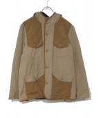 REMI RELIEF(レミレリーフ)の古着「フーデッドジャケット」|ベージュ