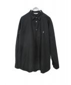 COOTIE PRODUCTIONS(クーティー プロダクツ)の古着「コットンシャツ」|ブラック