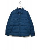 THE NORTHFACE PURPLELABEL(ザノースフェイスパープルレーベル)の古着「ダウンジャケット」|ブルー