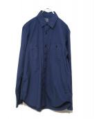 GANRYU(ガンリュウ)の古着「コットンシャツ」|インディゴ