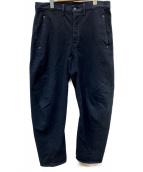 LEVIS PReMIUM(リーバイス プレミアム)の古着「バギーテーパードパンツ」|ブラック