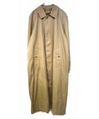 Burberrys(バーバリーズ)の古着「90'ヴィンテージロングトレンチコート」 ベージュ