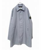 STONE ISLAND(ストーンアイランド)の古着「ステンカラーコート」 グレー