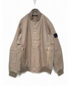 STONE ISLAND SHADOW PROJECT(ストーンアイランド シャドウプロジェクト)の古着「Shadow Woolen Bomber Jacket」 ベージュ