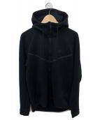 NIKE(ナイキ)の古着「ジップパーカー」|ブラック