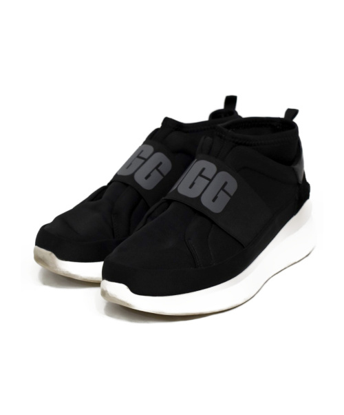 UGG(アグ)UGG (アグ) スリッポン ブラック サイズ:25の古着・服飾アイテム