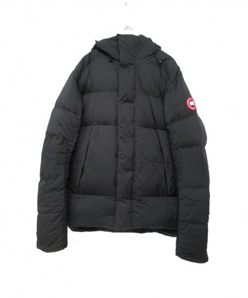 CANADA GOOSE(カナダグース)CANADA GOOSE (カナダグース) ARMSTRONG HOODY(ダウンジャケット) ブラック サイズ:M 5076M ARMSTRONG HOODYの古着・服飾アイテム