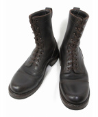 WHITES BOOTS(ホワイツ ブーツ)の古着「キャップトウスモークジャンパー」|ブラウン