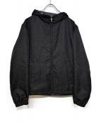 ck Calvin Klein(シーケーカルバンクライン)の古着「リバーシブルフーデッドジャケット」|ブラック×グレー