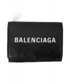 BALENCIAGA(バレンシアガ)の古着「ミニウォレット」 ブラック
