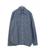 IRON HEART(アイアンハート)の古着「デニムシャツ」|スカイブルー