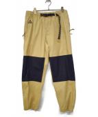 NIKE ACG(ナイキエーシージ)の古着「20S/S AS M NIKE ACG TRAIL PANT」|クラブゴールド×ブラック