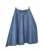 TARO HORIUCHI(タロウ ホリウチ)の古着「Asymmetric Pointy Shorts」|インディゴ