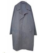 EDIFICE(エディフィス)の古着「Pe/Nウェザーオーバーコート」 ネイビー