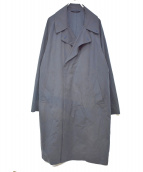 EDIFICE(エディフィス)の古着「Pe/Nウェザーオーバーコート」|ネイビー