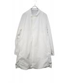 TEATORA(テアトラ)の古着「ウォレットコート」|ホワイト