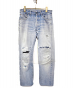 LEVIS(リーバイス)の古着「[古着]80'sヴィンテージ デニム パンツ」|ライトインディゴ