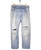 LEVIS(リーバイス)の古着「[古着]80'sヴィンテージデニムパンツ」|ライトインディゴ