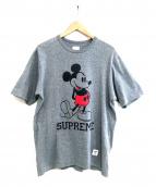 Supreme×Disney(シュプリーム×ディズニー)の古着「プリントTシャツ」|グレー
