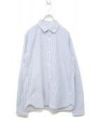 YAECA(ヤエカ)の古着「17S/S Comfort Shirt」|ホワイト×ブルー