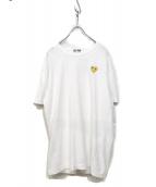PLAY COMME des GARCONS(プレイコムデギャルソン)の古着「刺繍Tシャツ」|ブラック