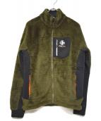 RLX RALPH LAUREN(アールエルエックス)の古着「フリースジャケット」 オリーブ