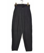 LIMI feu(リミフゥ)の古着「ハイウエストパンツ」|ブラック