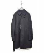 TOMORROW LAND PILGRIM(トゥモローランドピルグリム)の古着「SOUTIEN COLLARコート」|ネイビー