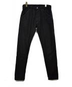 EVISU×METs COLA(エヴィス×メッツコーラ)の古着「デニムパンツ」|ブラック