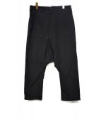 GANRYU(ガンリュウ)の古着「サルエルベイカーパンツ」|ブラック