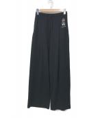 ()の古着「LUX WIDE PANTS」|ブラック