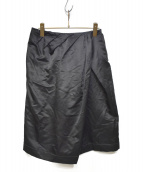 FUMIKA UCHIDA(フミカ ウチダ)の古着「SATIN PAREO SHORTS」|ブラック